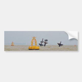 Wreck of The Steam Ship Richard Montgomery. Bumper Sticker