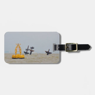 Wreck of The Steam Ship Richard Montgomery. Luggage Tag