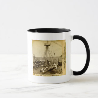 Wreck of the U.S.S. Maine Divers Coming Up Mug