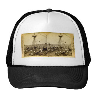 Wreck of the U.S.S. Maine, Divers Coming Up Trucker Hat