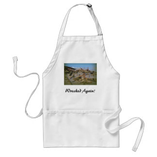 Wrecked Again! Adult Apron