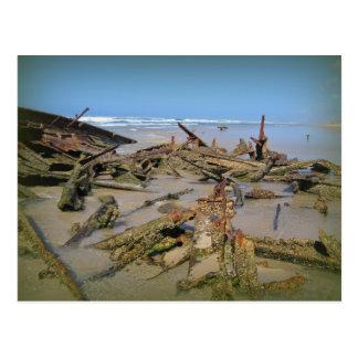 Wrecked Again! Postcard