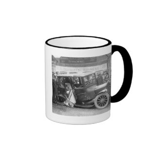 Wrecked Antique Car, 1920s Ringer Mug