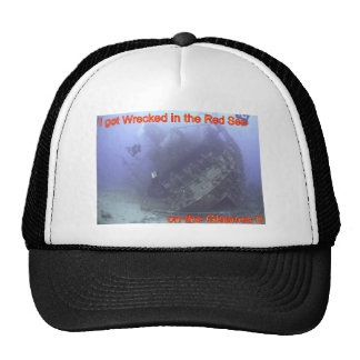 Wrecked in the Red Sea Trucker Hat