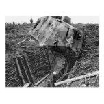 Wrecked Panzer Postcards