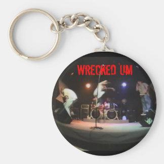 Wrecked 'Um Live Studio Keychain