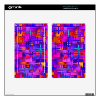 Wreckedangles Skin For Kindle Fire