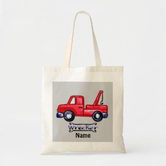 Wrecker Tow Truck Tote Bag