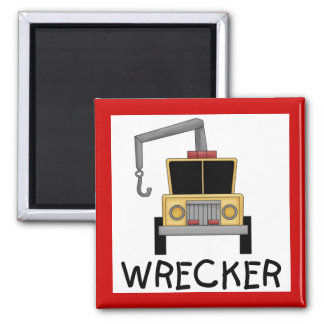 Wrecker Tshirts and Gifts 2 Inch Square Magnet