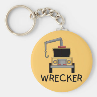 Wrecker Tshirts and Gifts Keychain