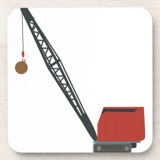 Wrecking Crane Beverage Coaster