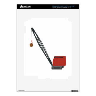 Wrecking Crane Skin For iPad 3