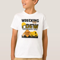 Wrecking Crew Shirt, Construction Work Zone T-Shirt