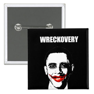 WRECKOVERY BUTTONS