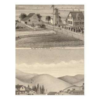 Wrede, Nebas residences Postcard