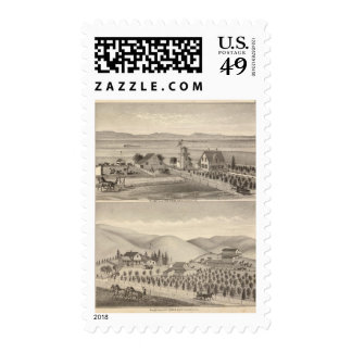 Wrede, Nebas residences Stamp