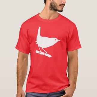 Wren Bird T-Shirt White