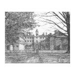 Wren Building, Williamsburg, Virginia Stretched Canvas Print