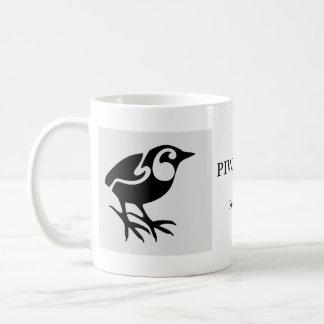 Wren de roca de los pájaros PIWAUWAU de Nueva Zela Tazas De Café