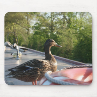 Wrenbury Duck Llangollen Canal Mouse Pad