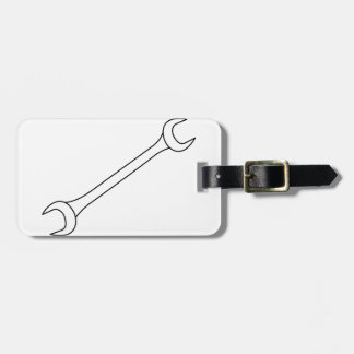 Wrench Luggage Tag