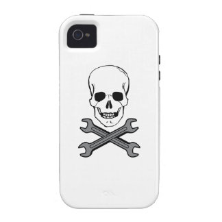 WRENCHES AND SKULL Case-Mate iPhone 4 CASES