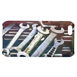 Wrenches in Machine Shop iPhone 5C Covers