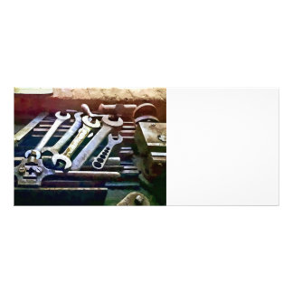 Wrenches in Machine Shop Rack Card