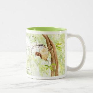 Wrens del bosque taza