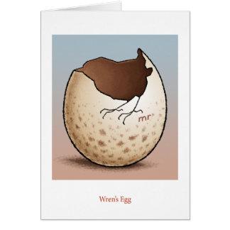 Wren's Egg Card