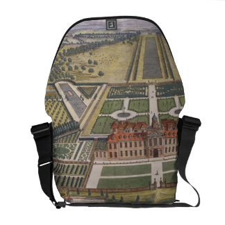 Wrest House in Bedfordshire engraved by Johannes K Courier Bag