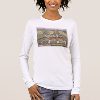 Wrest House in Bedfordshire engraved by Johannes K Long Sleeve T-Shirt