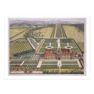 Wrest House in Bedfordshire engraved by Johannes K Postcard
