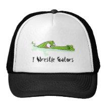 Wrestle Alligators Hat