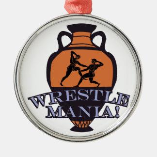Wrestle Mania! Metal Ornament