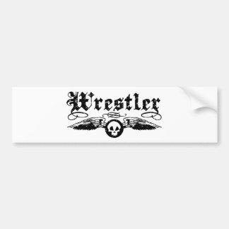 Wrestler Bumper Sticker