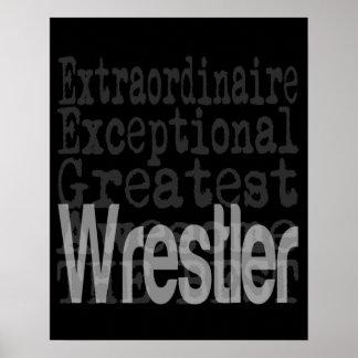Wrestler Extraordinaire Poster