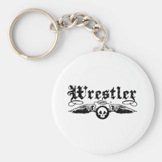 Wrestler Keychain