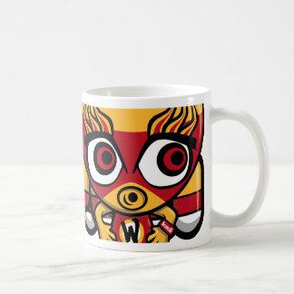 Wrestler Mascot Coffee Mug