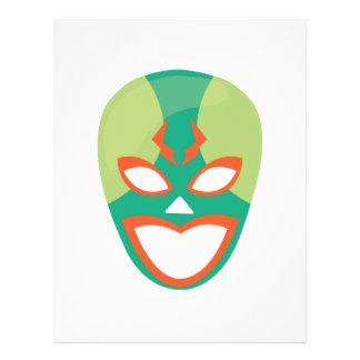 Wrestler Mask Letterhead