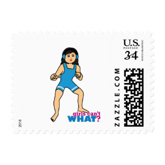 Wrestler - Medium Postage