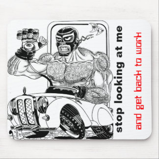 Wrestler Mouse Pad
