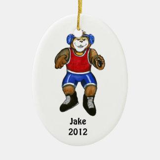 Wrestler Ornament