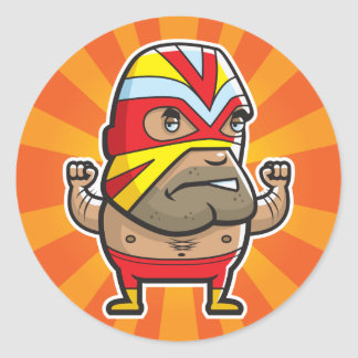 Wrestler Sticker