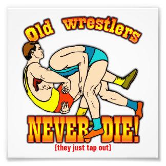 Wrestlers Art Photo