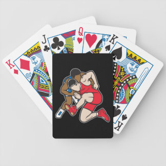 Wrestlers Bicycle Playing Cards