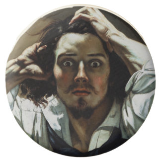 Wrestlers by Gustave Courbet Chocolate Covered Oreo