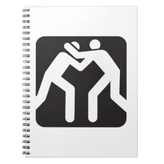 Wrestlers Icon Notebook