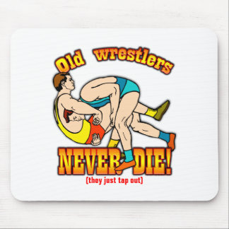 Wrestlers Mouse Pad