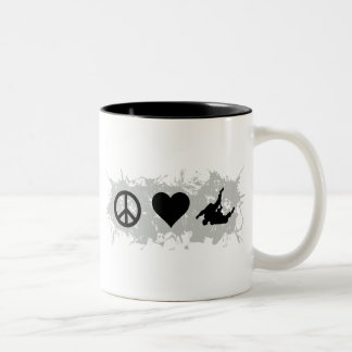 Wrestling 2 Two-Tone coffee mug